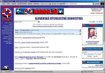 Dizajn stránky 18.09.2000.