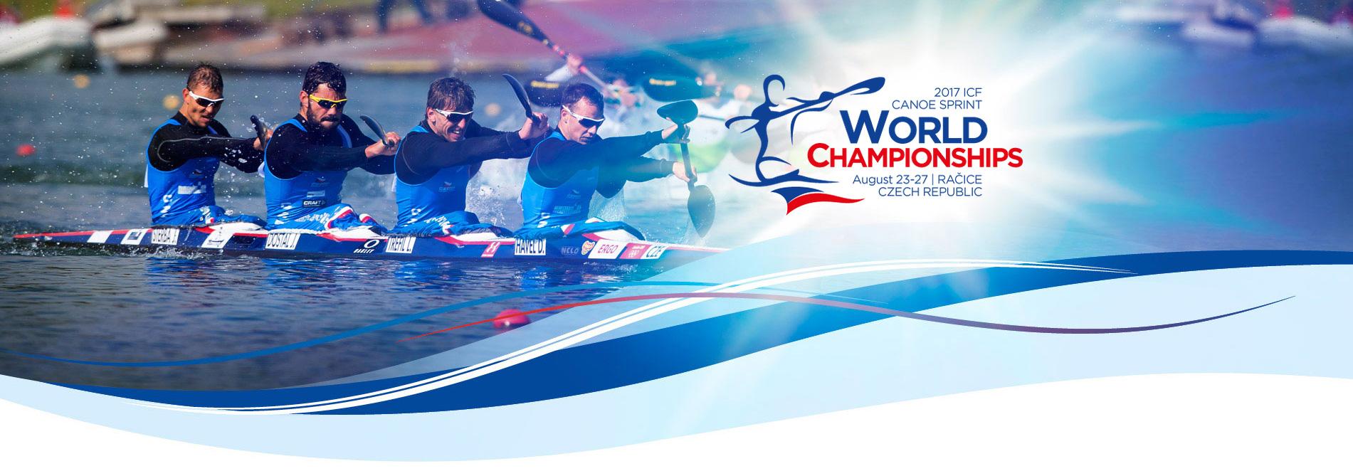 CF Canoe Sprint World Championships Racice 2017