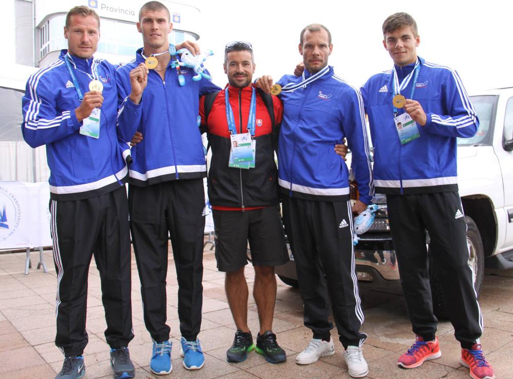 Erik Vlček, Tibor Linka, Peter Likér, Juraj Tarr, Denis Myšák