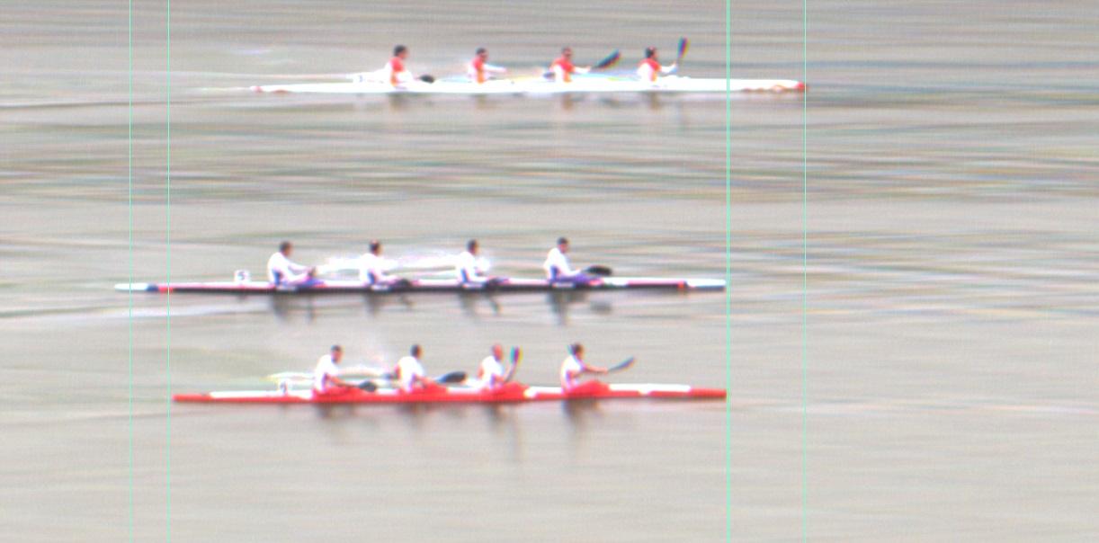 fotofinish K4 1000m final