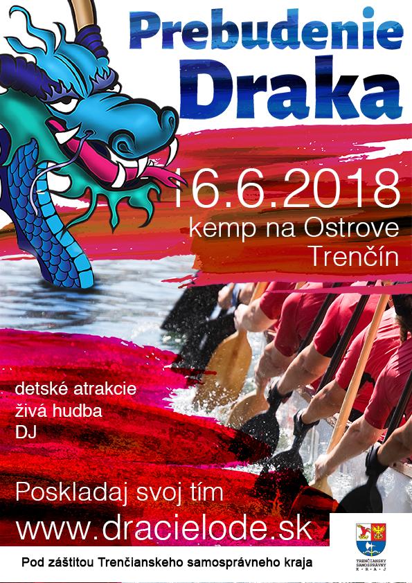 PREBUDENIE DRAKA 2018 - plagát.