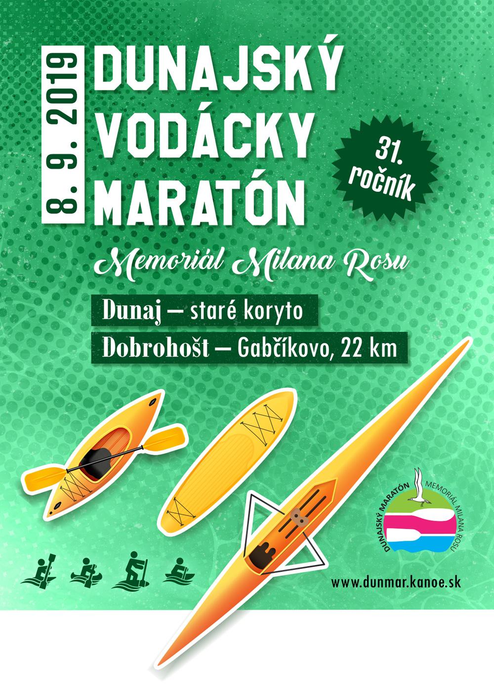 31. Dunajský vodácky maratón