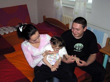 Rodinku Mackových sme navštívili v rehabilitačnom centre Harmony v Bratislave, kde boli na týždennom pobyte...