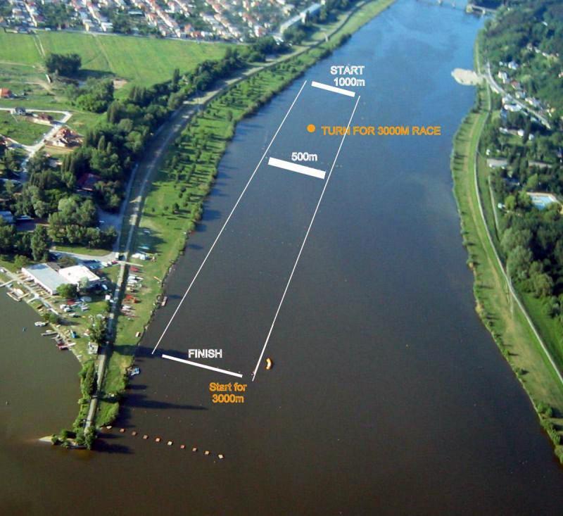 Medzinárodná regata, 21. ročník - plán trate
