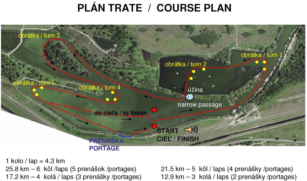 Dunajský maratón, 19. ročník - plán trate