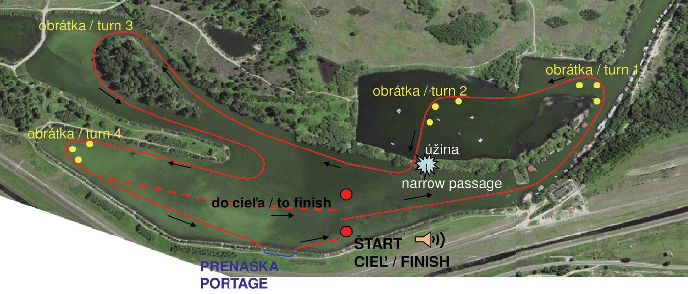 Dunajský maratón, 21. ročník - plán trate