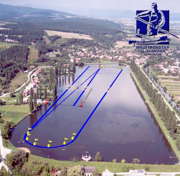 Majstrovstvá Slovenska - dlhé trate - plán trate